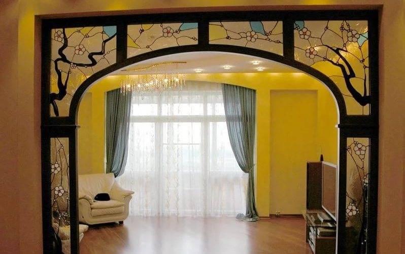 Декор дверного проема без двери фото