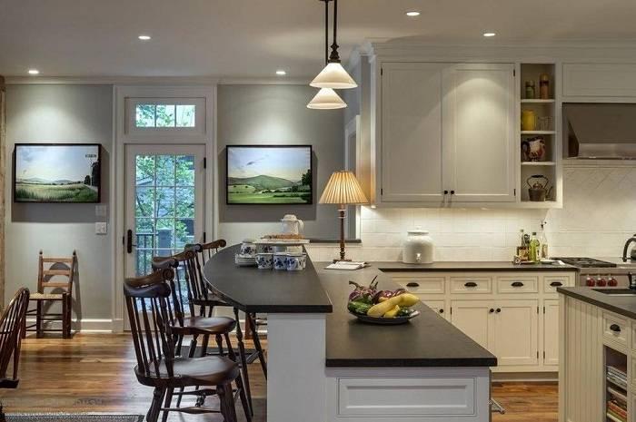 Стандартные размеры барной стойки для кухни