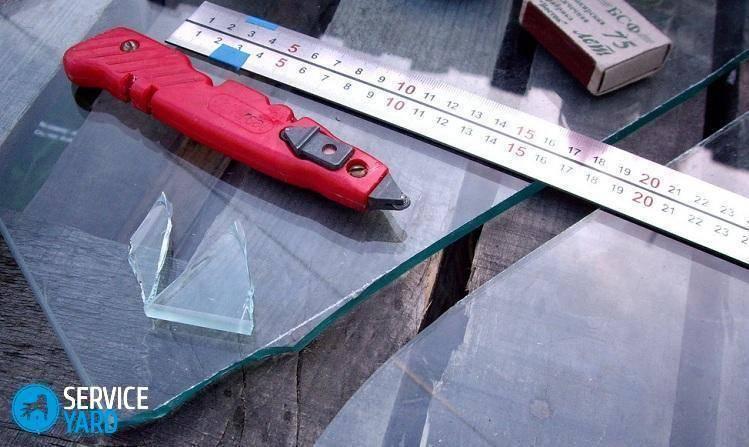 Резка каленого стекла в домашних условиях видео