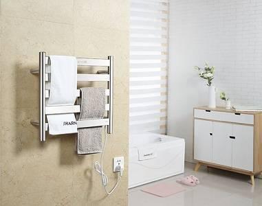 Выбор электрического полотенцесушителя для ванной