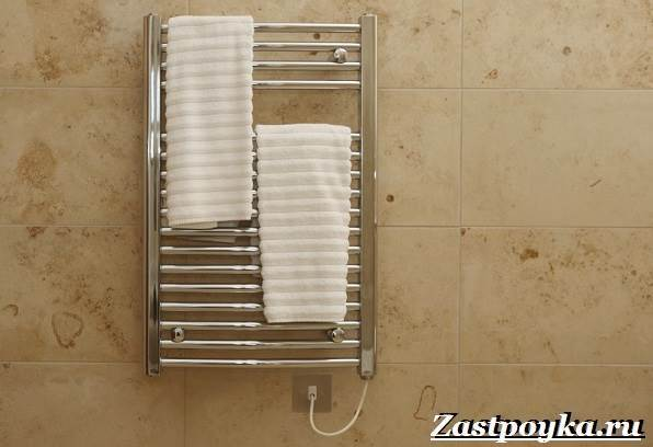Как установить сушилку в ванной