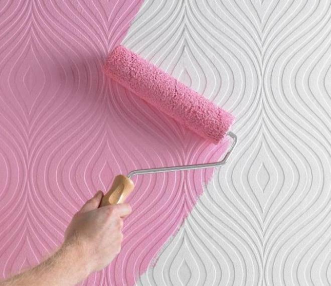Как поклеить стеклообои под покраску