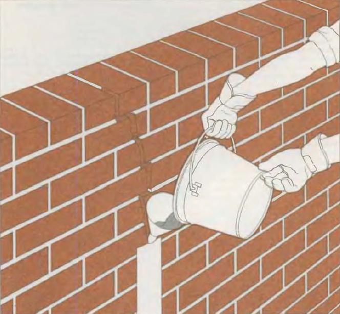 услуги по ремонту трещин в кирпичных стенах