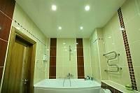 Подсветка натяжного потолка светодиодной лентой изнутри фото