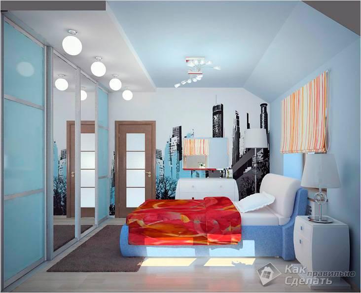 Какие цвета зрительно увеличивают комнату
